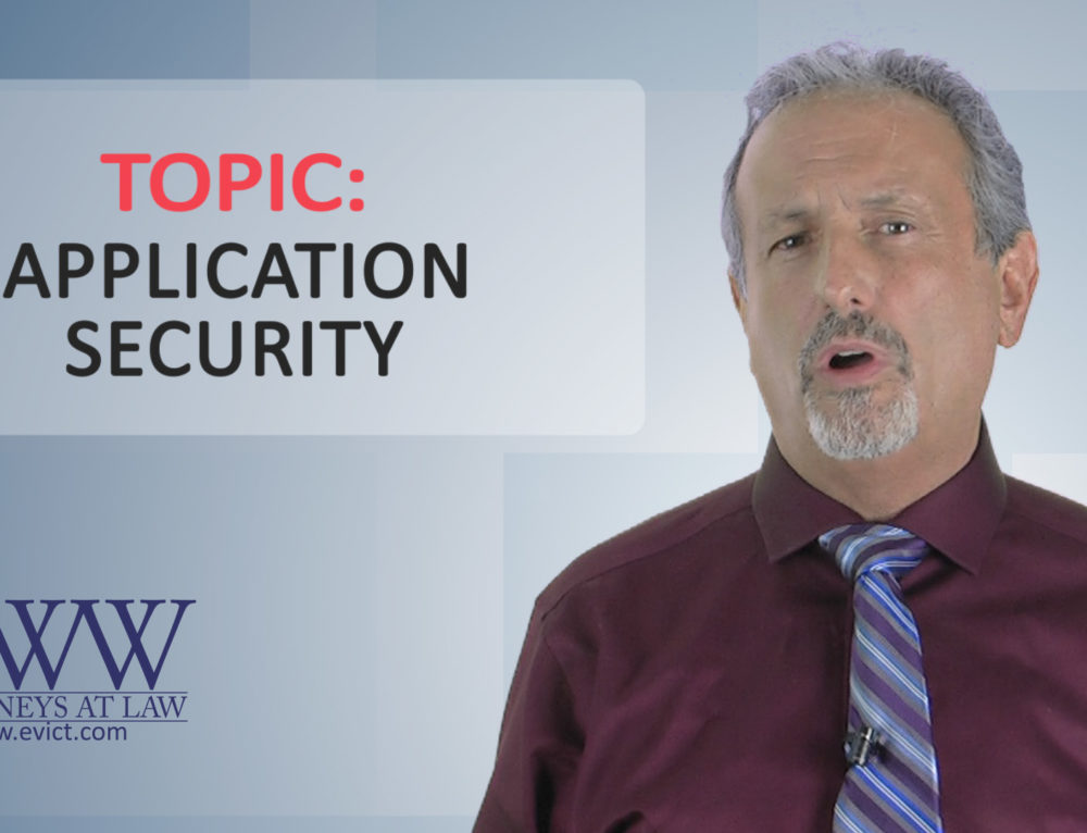 Episode 60: Application Security