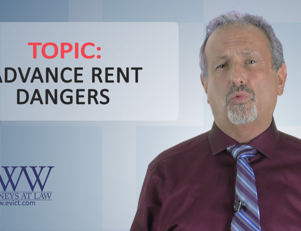 Episode 66: Advance Rent Dangers