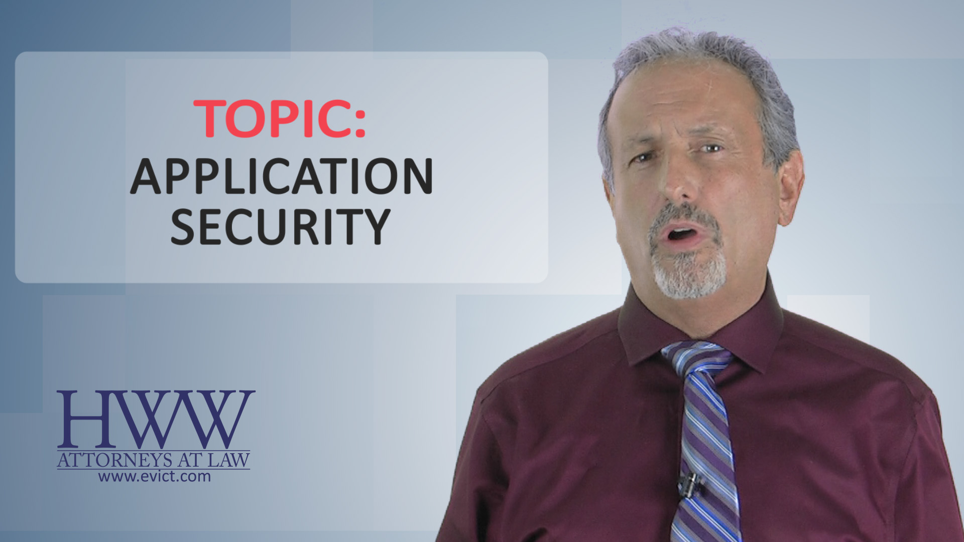 Episode 60 Application Security Evictcast